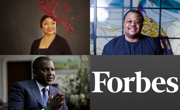 Folorunsho Alakija, Aliko Dangote, Mike Adenuga amongst others makes Forbes List of Top 21 Richest Men in Africa For 2019