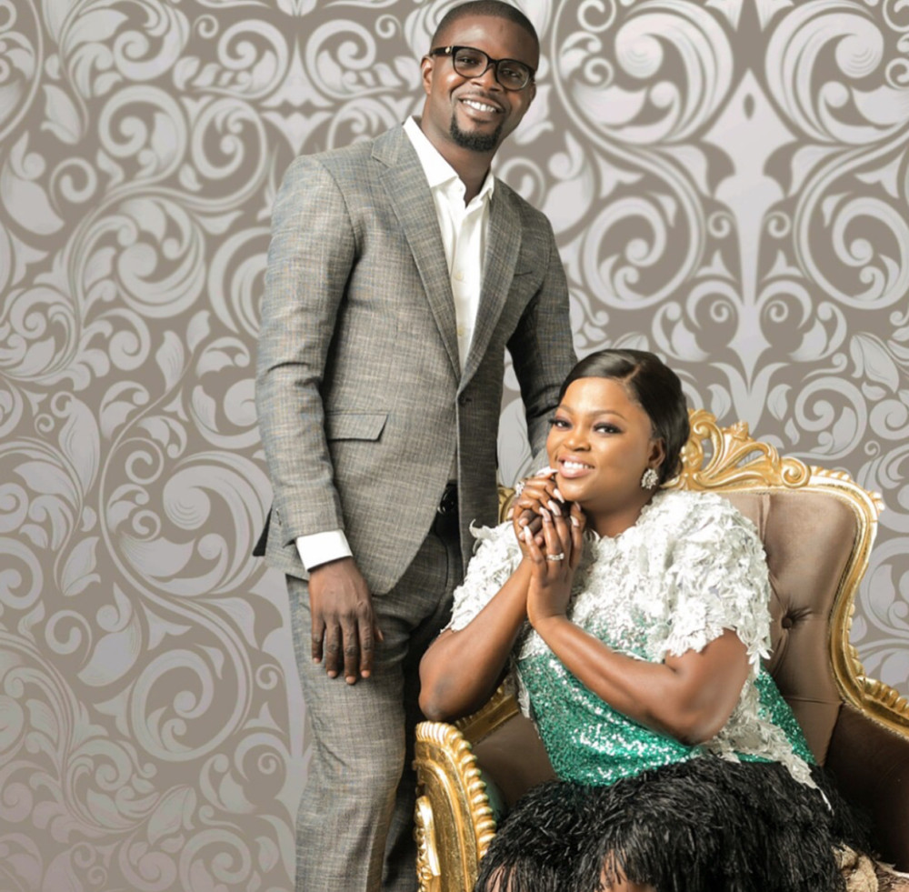Funke Akindele & JJC Skillz Shows Off Her Twins Boys
