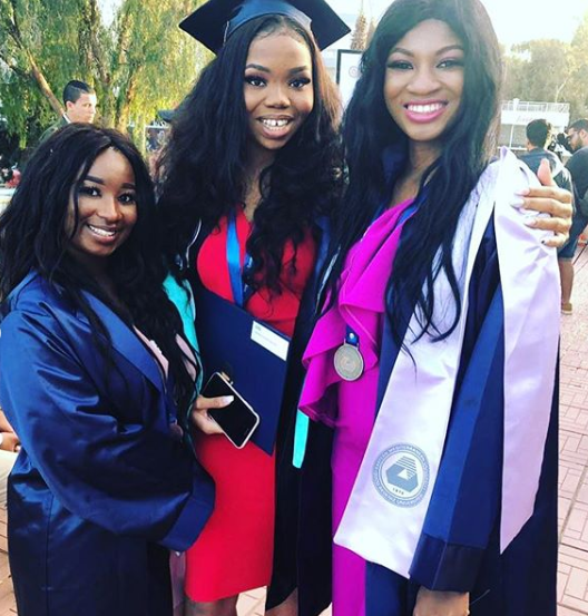 Omotola Jalade-Ekeinde's Daughter, Princess Graduates From Cyprus University
