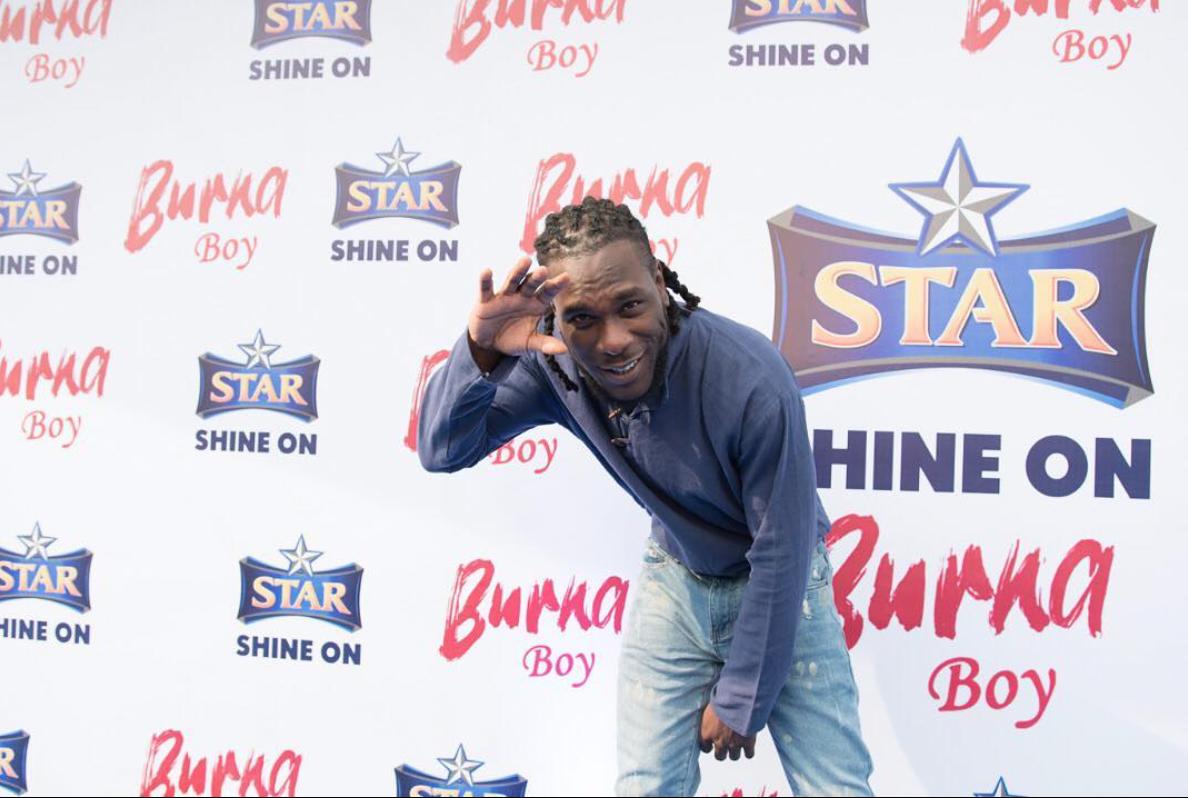 Burna Boy is the latest Star Brand Ambassador