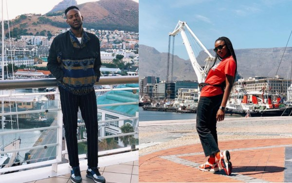 [PHOTOS] Simi And Adekunle Gold Honeymoon In Cape Town
