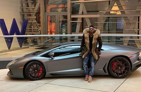Obafemi Martins Acquires New Lamborghini