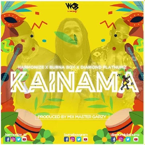 Music: Harmonize ft. Burna Boy & Diamond Platnumz – Kainama