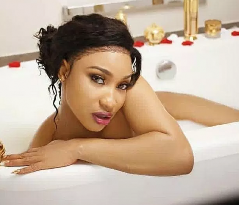 Tonto Dikeh Reacts To Prophecy on Funke Akindele Never Giving Birth