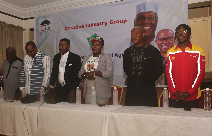 The Creative Industry Endorses Atiku/Obi 2019 Mandate.