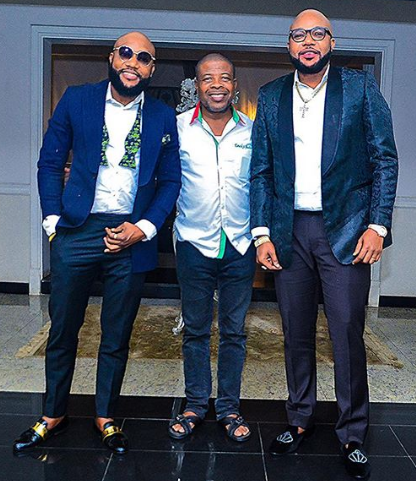 Photos: Kcee & Emoney Visit Imo Governor Elect