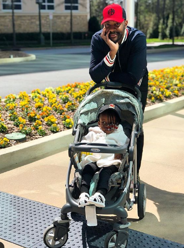 Cute Photo Of Ebuka Obi-Uchendu & His Daughter
