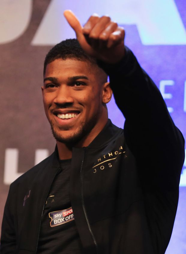 [VIDEO] Anthony Joshua Speaks Yoruba With His British Accent