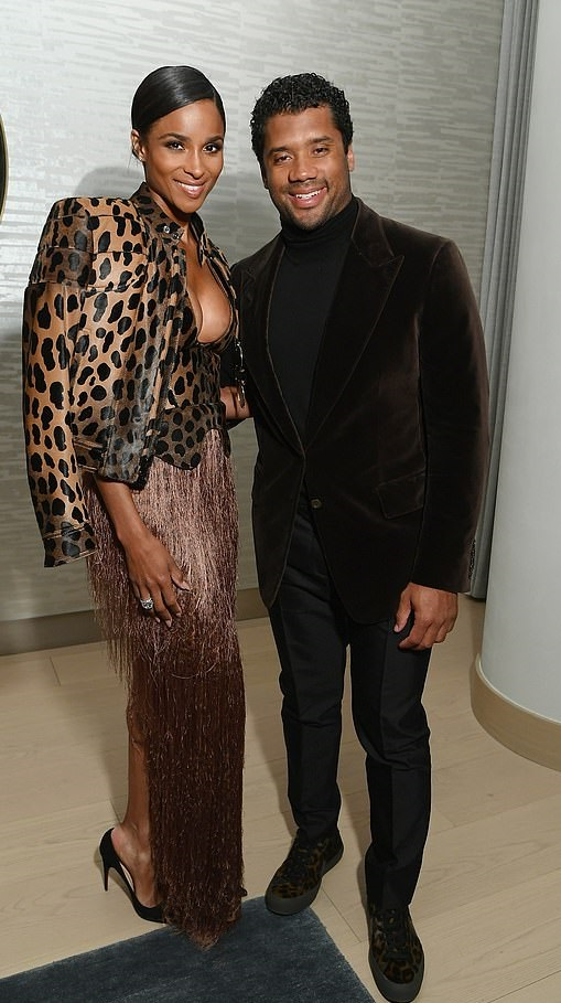 Ciara Attend InStyle Dinner With Her Husband