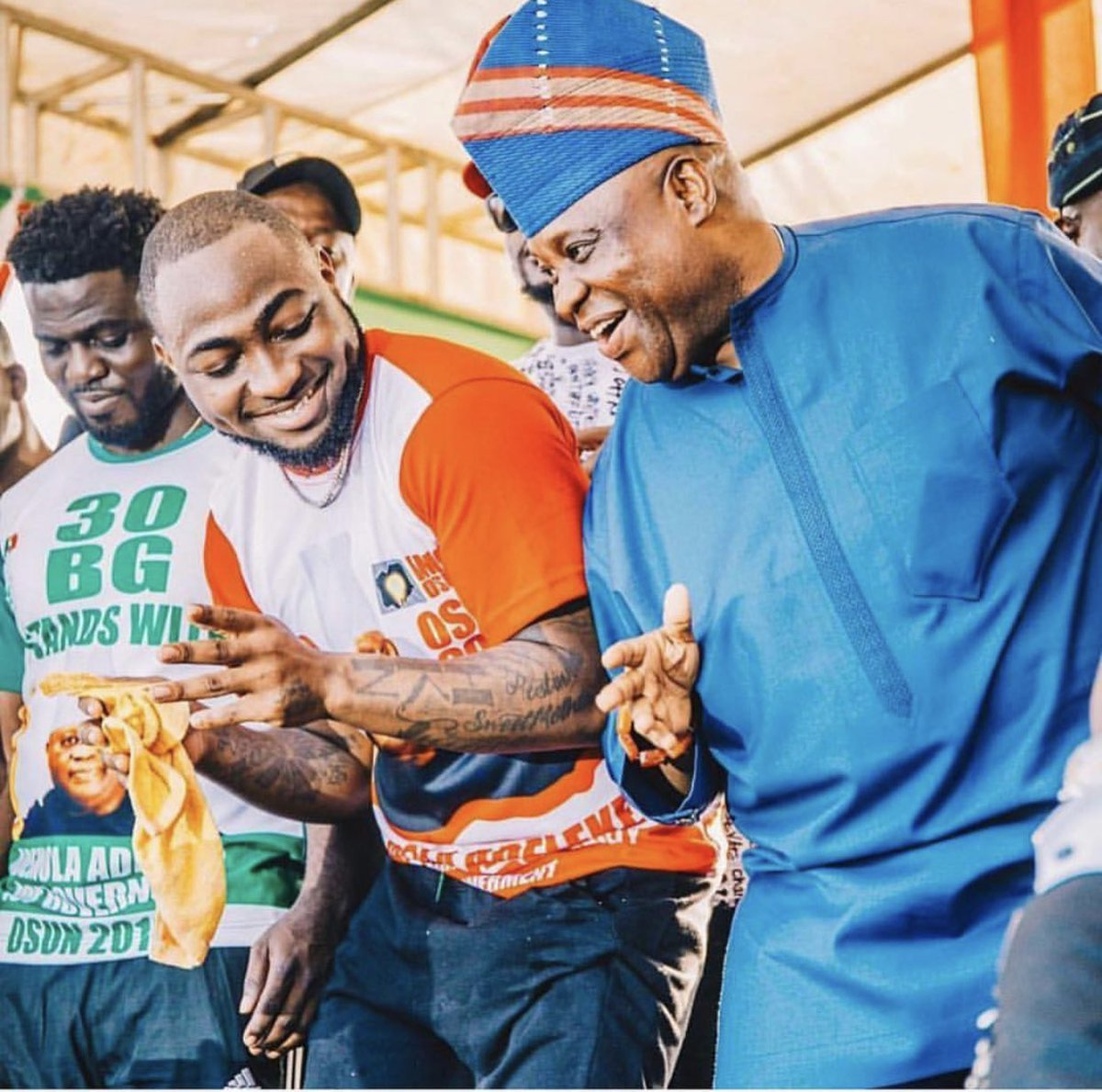 Davido Reacts To Ademola Adeleke's Victory At Tribunal