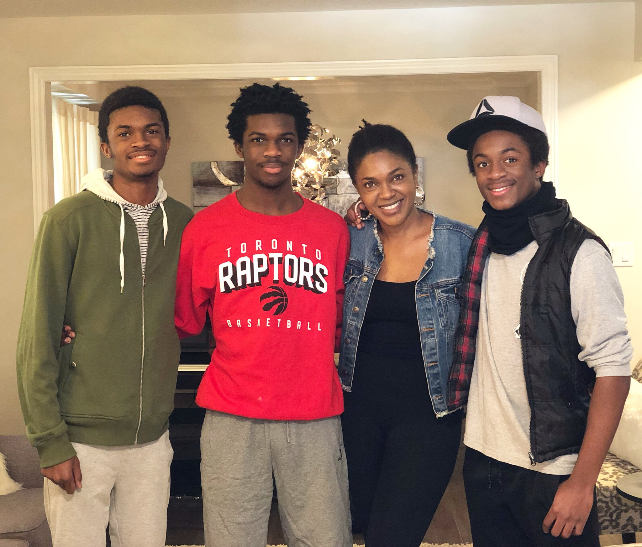 Omoni Oboli Gushes About Her Three Sons