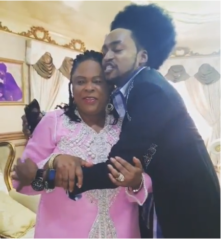 [VIDEO] Denrele Edun Praises Former First Lady Patience Jonathan