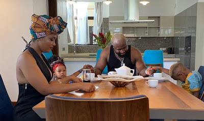 Beautiful New Photo Of Harrysong & His Family