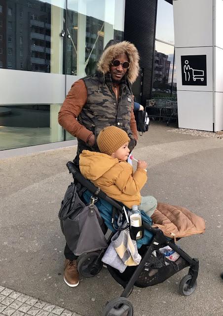 Photos: Singer Jaywon Visits Son In Europe