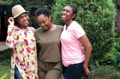 Omoni Oboli Hints She & Uche Jumbo Have Settled Rift