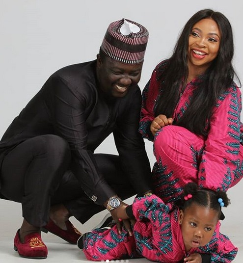 Seyi law & Wife Celebrate 8th Wedding Anniversary