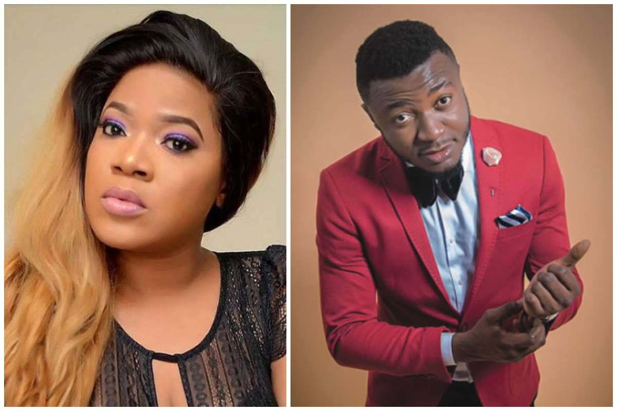 Toyin Abraham Calls Out MC Galaxy For Nude Request