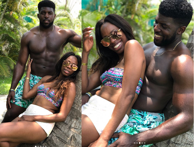 Yvonne Orji And Emmanuel Acho Split