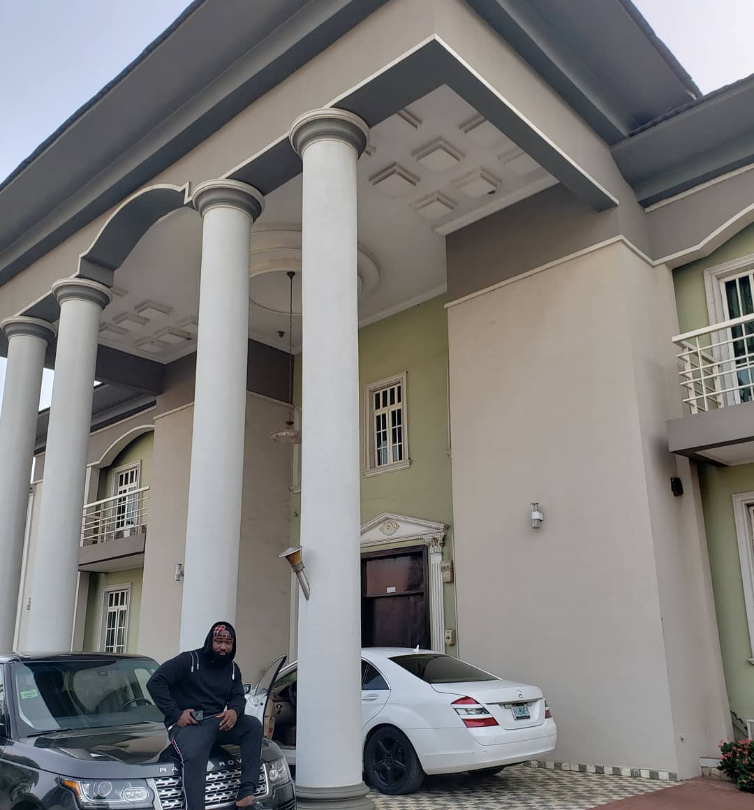 Harrysong Shows Exterior & Interior Of His House