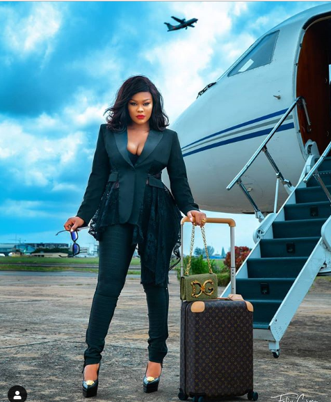 Daniella Okeke Brags About Her Bae's Private Jet