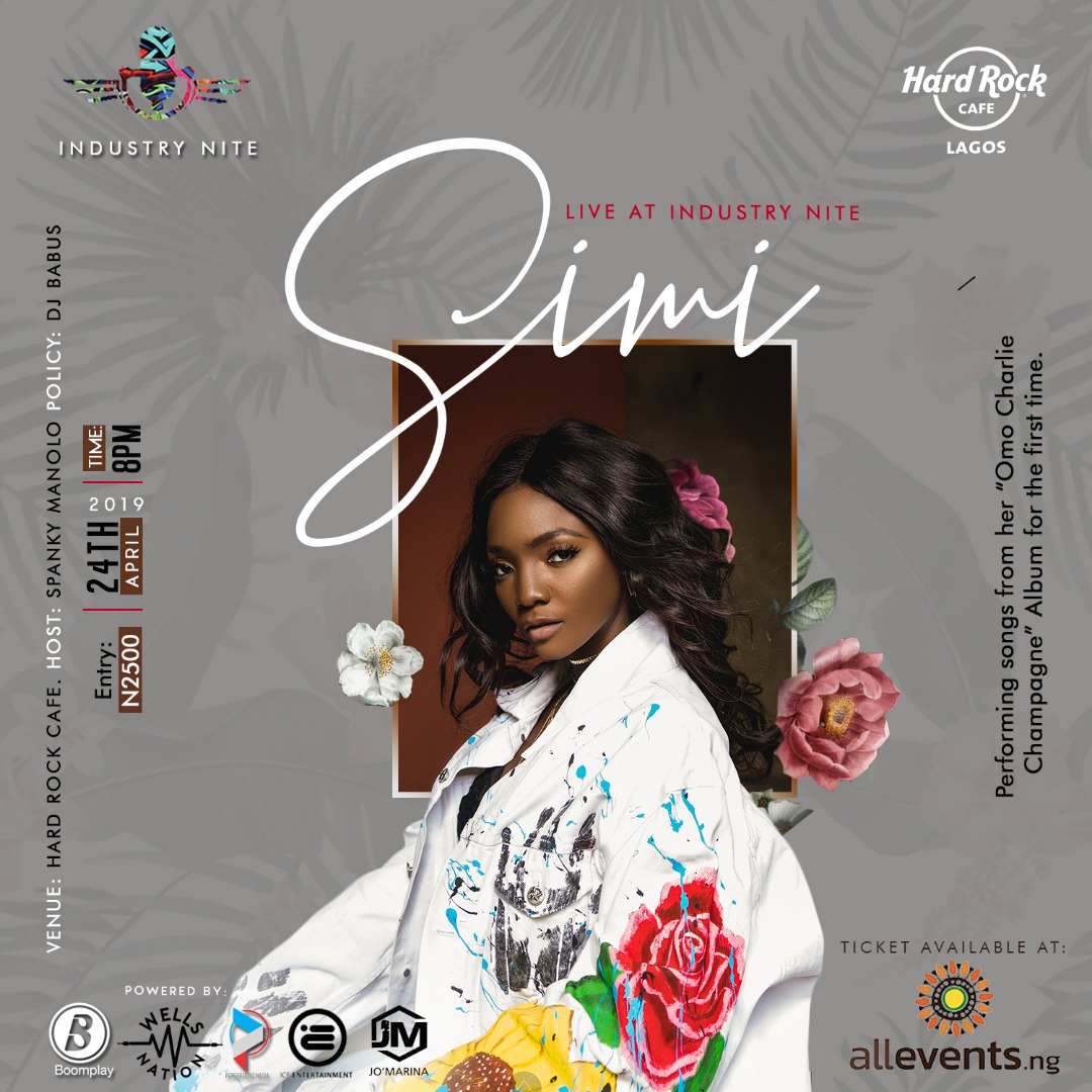 Event: Industry Nite With Simi | Get Your Tickets