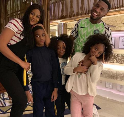 [PHOTOS] Timi Dakolo And His Family Jet Out To Dubai For Vacation