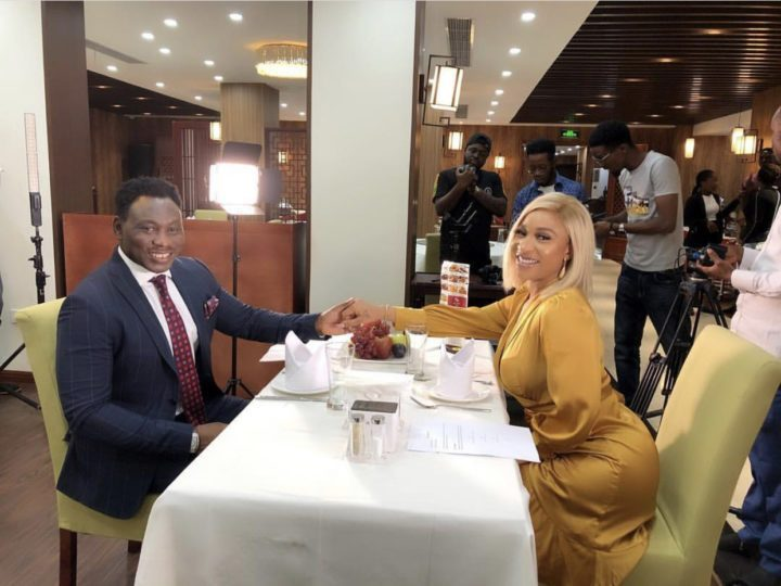 Tonto Dikeh And Daniel Amokachi Spotted On A Date