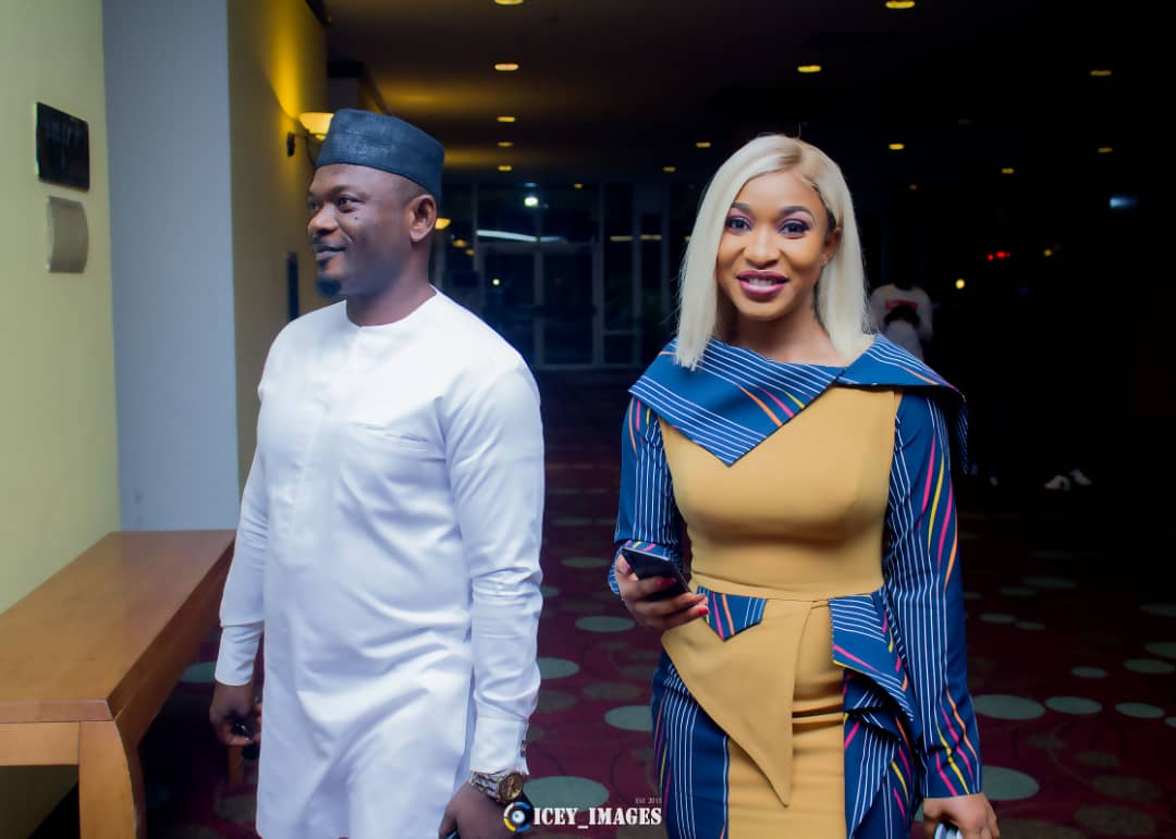 Tonto Dikeh's Manager Denies Endorsing Olakunle Churchill
