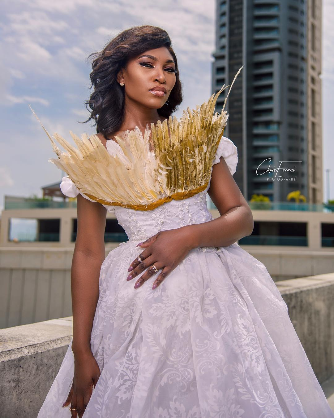 [PHOTOS] Ufuoma McDermott Releases Game of Thrones Inspired Birthday Photos