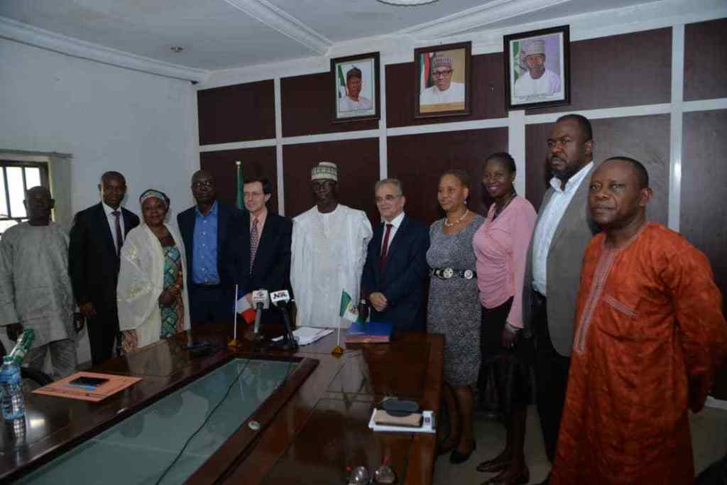 The National Film & Video Censors Board & the Alliance Francaise Signs a French-Nigeria Cinema Days Collaborative Agreement