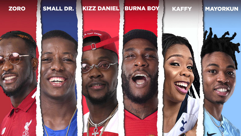 "Burna Boy, Kizz Daniel, Mayourkun, others team up to release naija's first EPL song ""Leggo"""