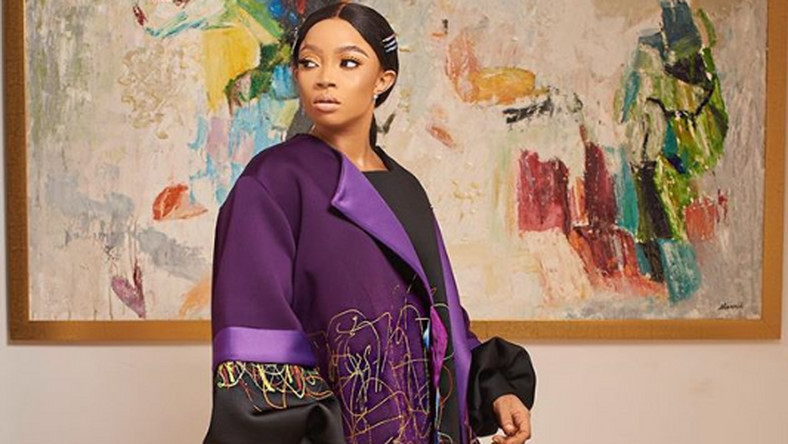 Toke Makinwa is runway ready in Papa Oppong at ARISE Fashion Week 2019