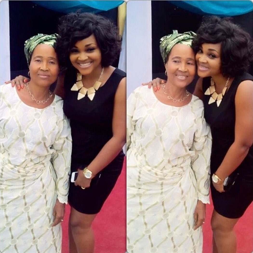 Mercy Aigbe Shares Photo Of Her Mum On Instagram