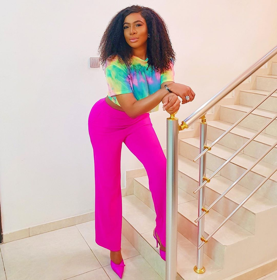 Chika Ike Shows Off Hot Curves In New Steamy Instagram Photo
