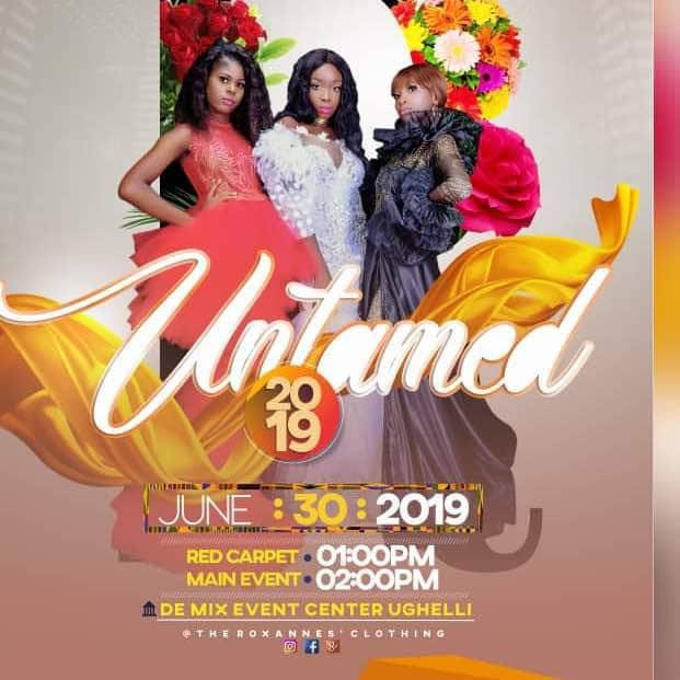 Roxanne's clothing presents the UNTAMED FASHION SHOW
