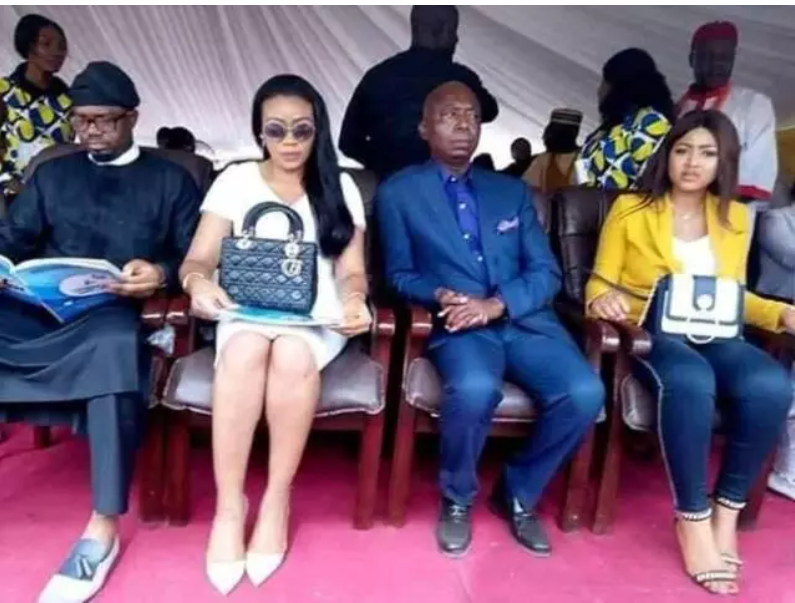 Ned Nwoko's Senior Wives Reportedly Have No Issue With Regina Daniels