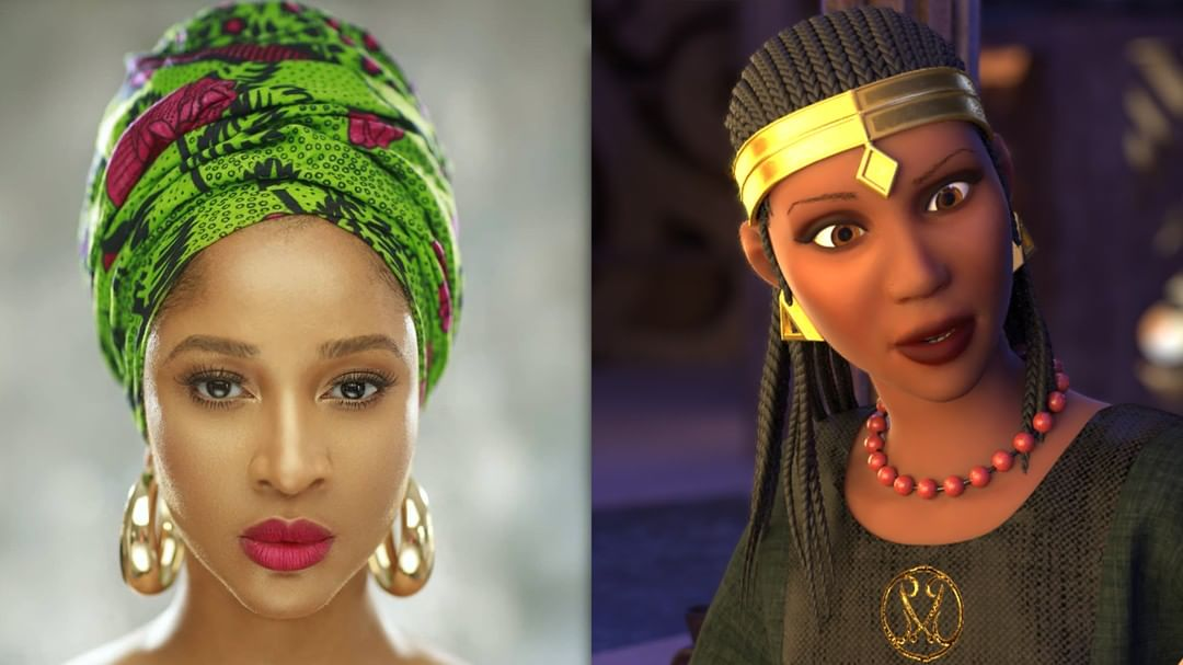 Adesua Etomi-Wellington Will Voice Lead Character In Animated Film 'Malika: Warrior Queen'