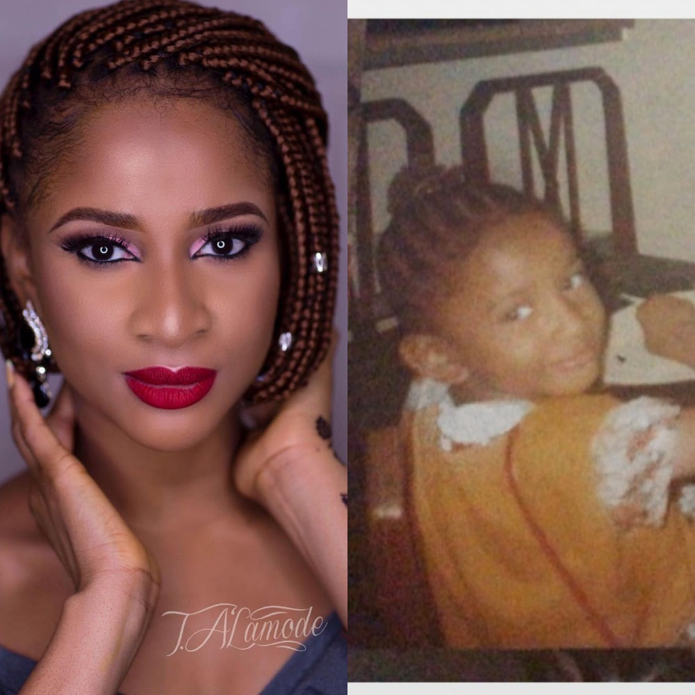 Adesua Etomi Shares Extremely Cute Throwback Photo Of Herself