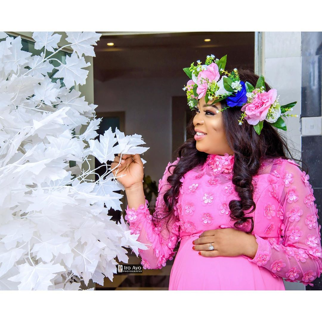 Bidemi Kosoko Announces The Birth Of Her Baby Boy With Baby Bump Photos