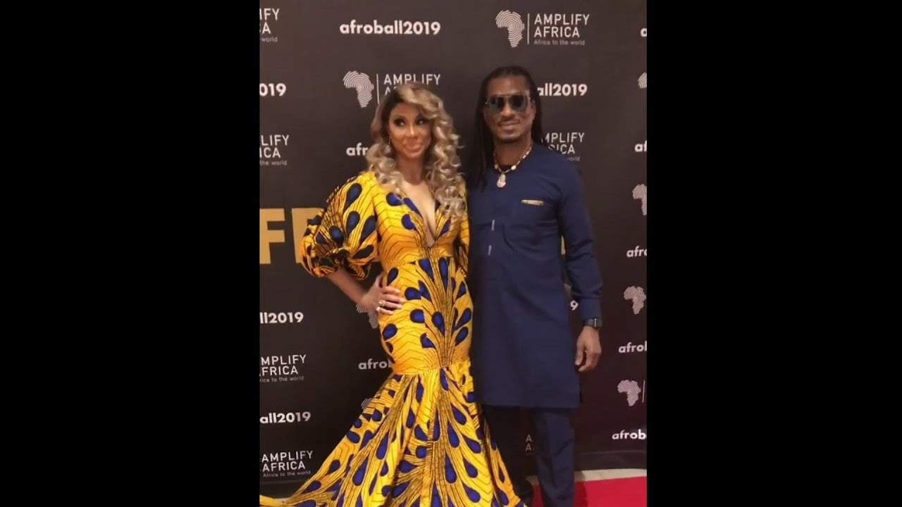 Tamar Braxton Steps Out With Nigerian Boyfriend Wearing An Ankara Dress