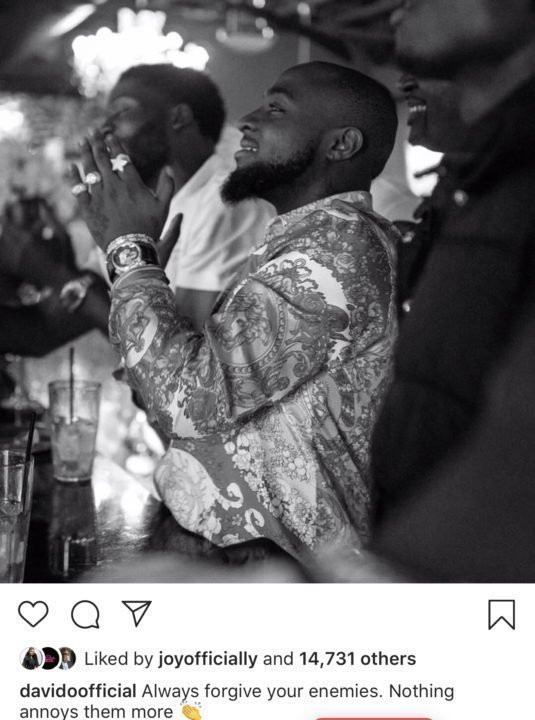 Davido has the Best Reply for those who Claim he isn't the One who Bailed Zlatan