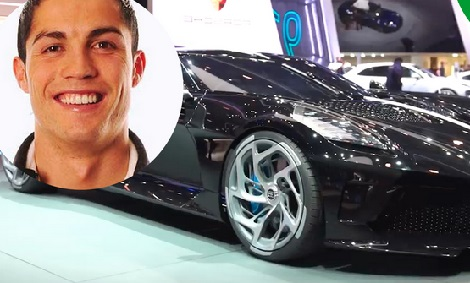 Ronaldo 'Buys World's Most Expensive Car'