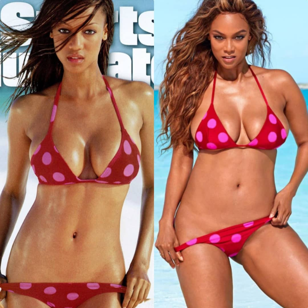 Wow! Tyra Banks Recreating This Bikini Look Is The Best 22 Year Challenge