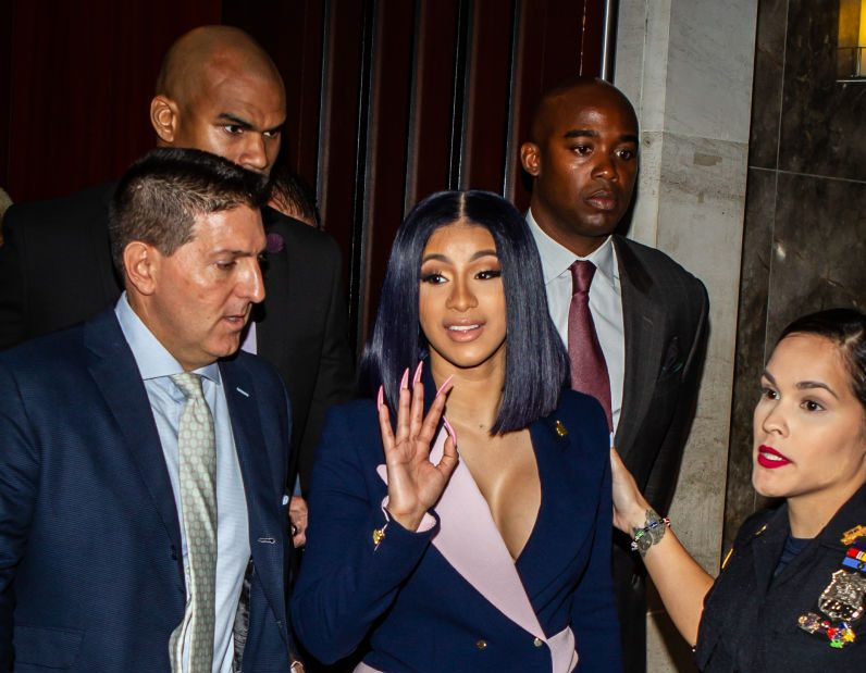 "American Star Cardi B Pleads ""Not Guilty"" to Felony Assault Charges"
