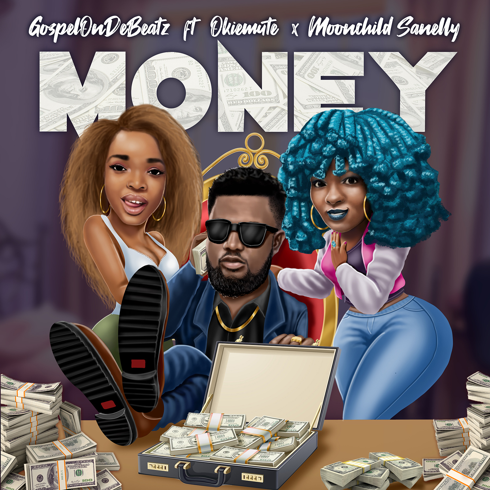 VIDEO: GospelOnDeBeatz – Money ft. Okiemute & Moonchild Sanelly