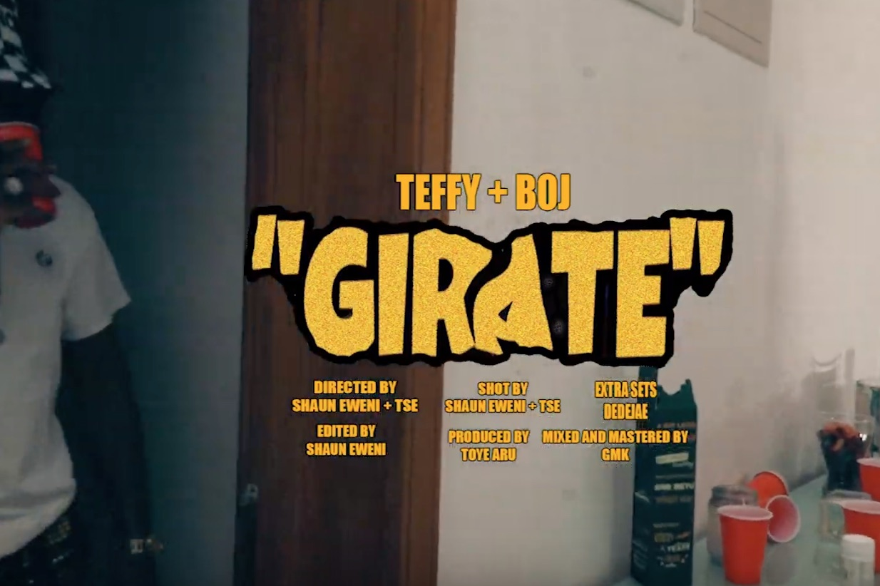 VIDEO: Teffy x BOJ – Girate