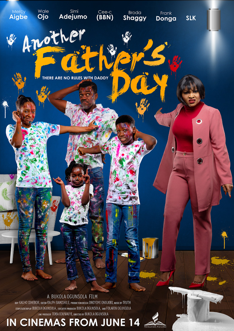 Mercy Aigbe, Wale Ojo, Simi Adejumo, Cee Cee , Broda Shaggy, Frank Donga, SLK Features In New Revelation Pictures Movie ''Another Father's Day''
