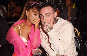 Ariana Grande cries on stage while honoring late ex-boyfriend Mac Miller