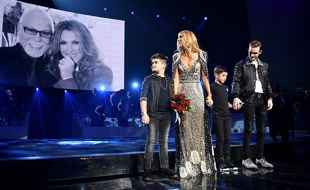 Celine Dion pays tribute to late husband as she marks the end of her 16-year Las Vegas residency