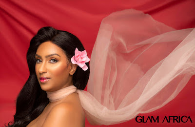 Juliet Ibrahim covers Glam Africa Magazine – The Big Beauty Edition